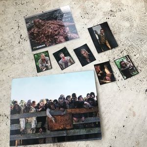 Walking Dead Autographed Zombie + Character Pics